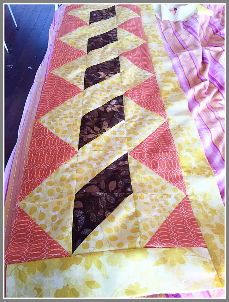 Chemin de table - Chemin de table en patchwork ...