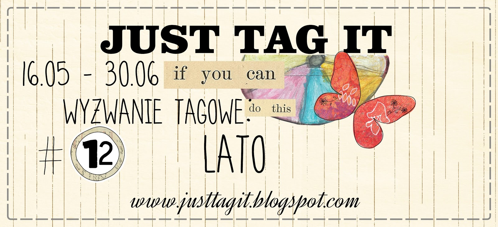Just Tag It! Challenge #12