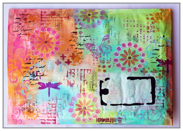 Mail Art for The Crafter's Workshop