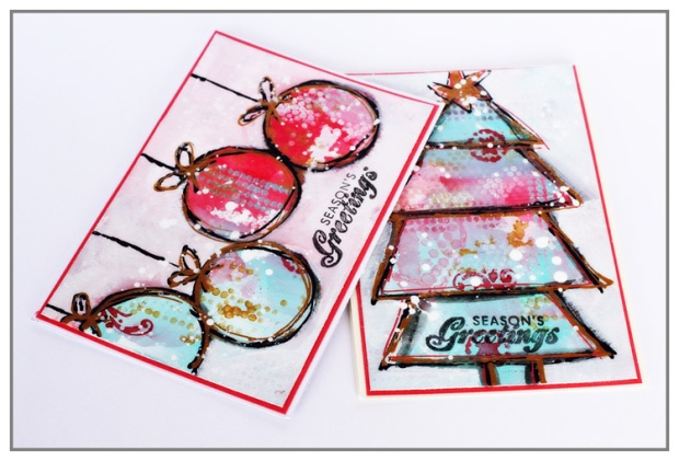 Greeting cards for my Crafter's Workshop DT Work
