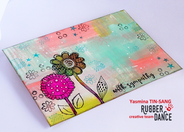 Mail Art for my DT work at Rubber Dance Stamps - Feb17